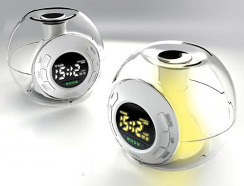 Color Changing Orb Alarm Clock (Image courtesy BoysStuff.co.uk)