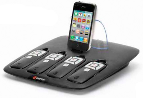Griffin PartyDock (Image courtesy wireless goodness)