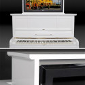 Upright Multimedia Piano Is Certainly An Original Place To Stash Your LCD TV