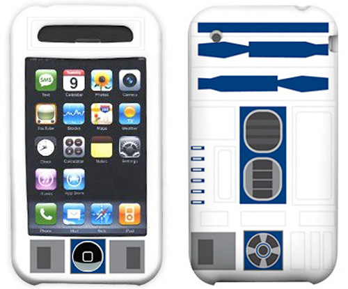 R2-D2 iPhone Hard Case With Sculpted Details (Image courtesy StarWarsShop.com)