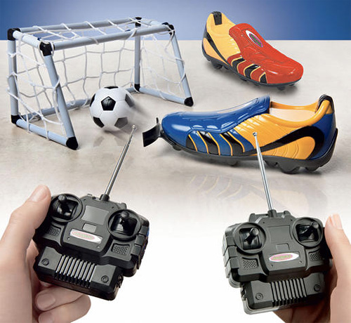 Remote-Controlled Football Shoes (Image courtesy Pro-Idee)