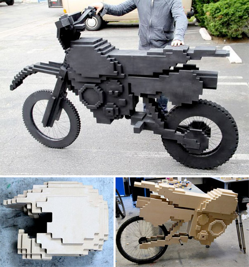 Real-Life Excitebike (Images courtesy Justin Harder)