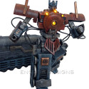 Custom Steampunk Optimus Prime Figure