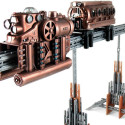 Steampunk Monorail Building Toy
