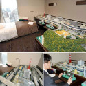 Free In-Room Wifi? Forget That! I Want To Stay At This Hotel With A Free In-Room Model Railroad