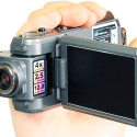 Thanko's 1080P HDDV-506 Camcorder With A Swiveling Lens!