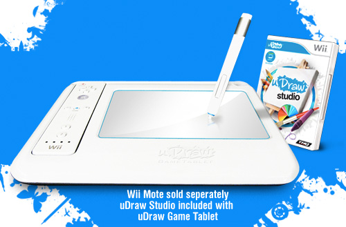 uDraw GameTablet (Image courtesy THQ)