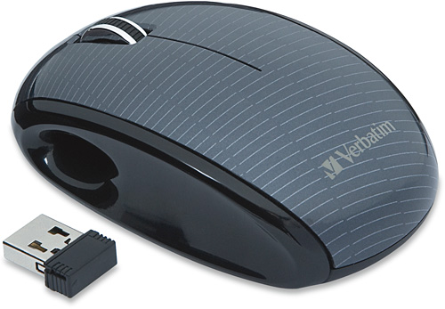 Nano Wireless Notebook Laser Mouse (Image courtesy Verbatim)