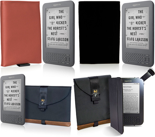 WaterField Designs Kindle 3 Cases (Images courtesy WaterField Designs)