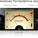 'Awareness! The Headphone App' Lets You Hear What's Going On Around You While Listening To Music