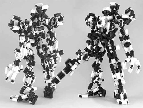 Bowei Robotic Building Blocks (Image courtesy MadeinChina.com)