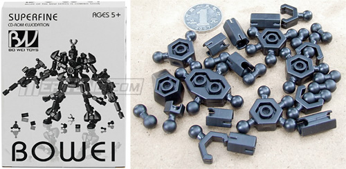 Bowei Robotic Building Blocks (Images courtesy Meritline.com)