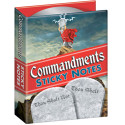 Commandments Sticky Notes – Thou Shalt Pick Up Thine Dry Cleaning!
