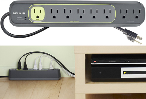 Belkin Conserve Smart AV Power Strip (Images courtesy Belkin)