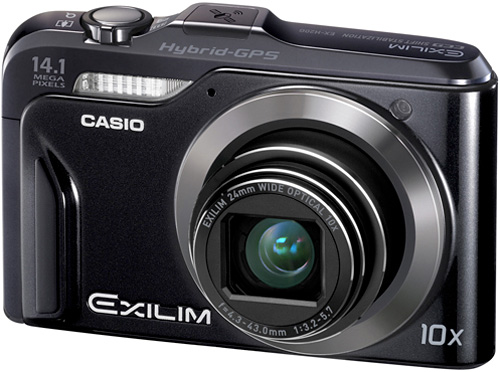 Casio EXILIM EX-H20G (Image courtesy Casio)