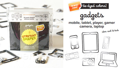 Gadget Band Elastics (Image courtesy Perpetual Kid)