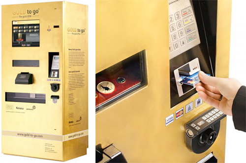 GOLD to go ATMs (Images courtesy Ex Oriente Lux AG)