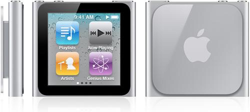 iPod Nano Touch (Image courtesy Apple)