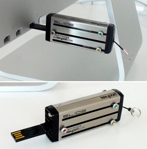 Keyport USB Flash Drive (Images courtesy Keyport)