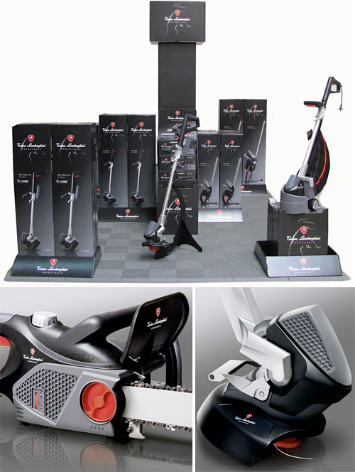 Tonino Lamborghini Garden Tools (Images courtesy Design Milk)