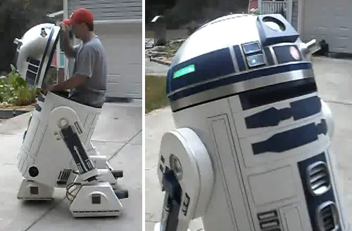 Large-Scale R2-D2 (Images courtesy dmalford1)