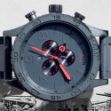Nixon's New Gunship Finish Is Designed To Show Wear Over Time