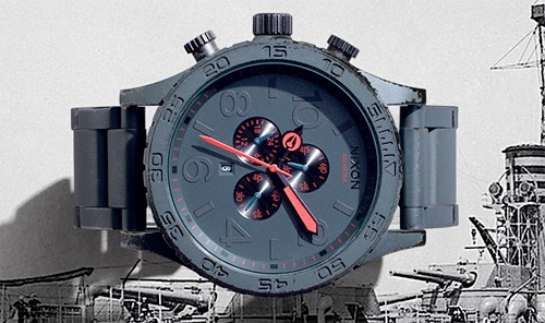 Nixon Gunship Collection (Image courtesy Nixon)