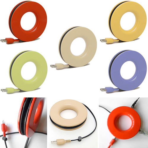 PLUGO Circular Extension Cord (Images courtesy Design Blog SPGRA)