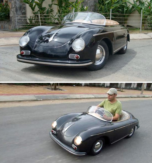Half-Scale Porsche 356 (Images courtesy Harrington Group)
