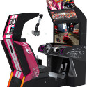 Konami's New 3D Road Fighters Arcade Game Is Not Immune To Those Annoying Glasses