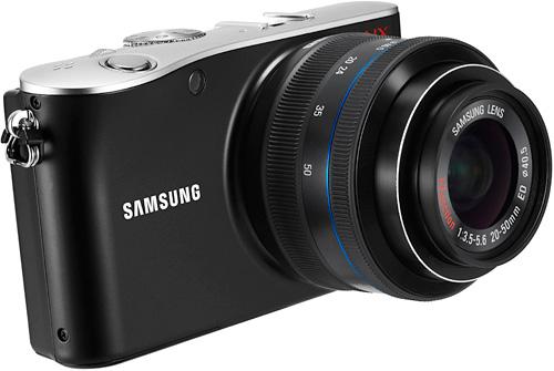 Samsung NX100 (Image courtes Samsung)