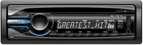 Sony CDX-GT550UI (Image courtesy Sony)
