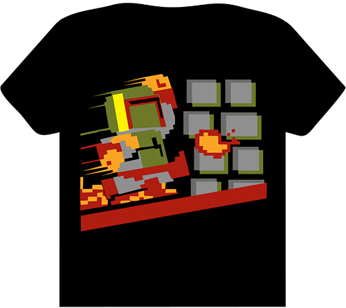 Super Fettio Bros Tee (Image courtesy TeeFury)