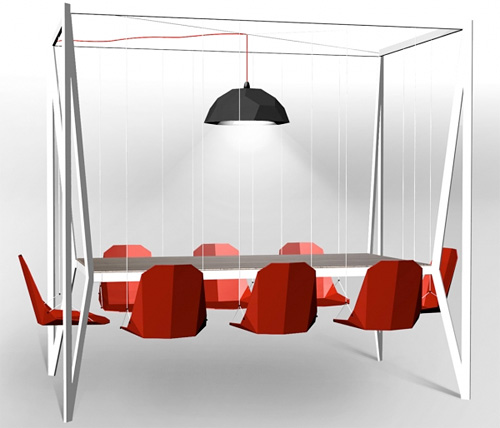 Swing Table (Image courtesy Duffy London)