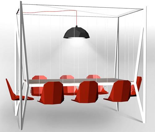 Swing Table (Image courtesy Duffy London)