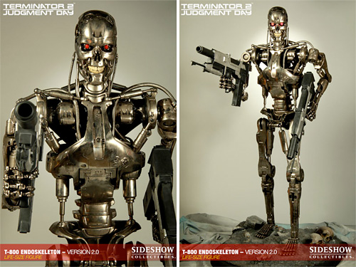 T-800 Endoskeleton (Images courtesy Sideshow Collectibles)