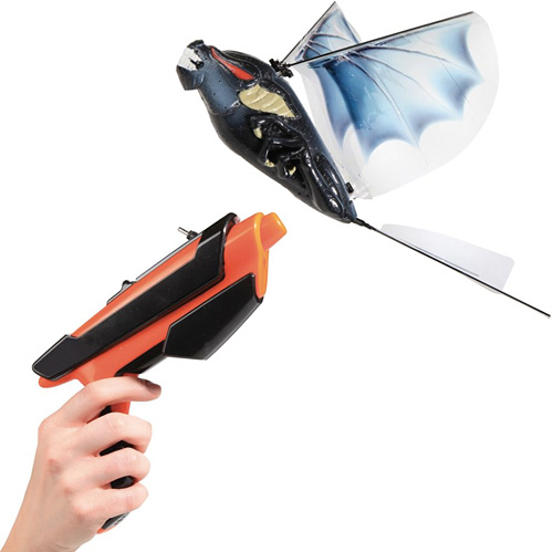 Live Action Vampire Bat Hunt (Image courtesy Hammacher Schlemmer)