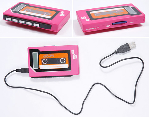 MP3 Walkman (Images courtesy Urban Outfitters)