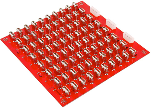 80 Port USB Charger Board (Image courtesy AudioCubes)