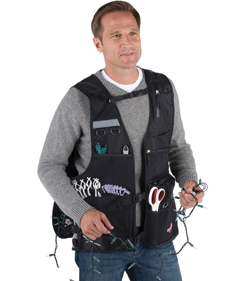The Holiday Decorator's Toolvest (Image courtesy Hammacher Schlemmer)