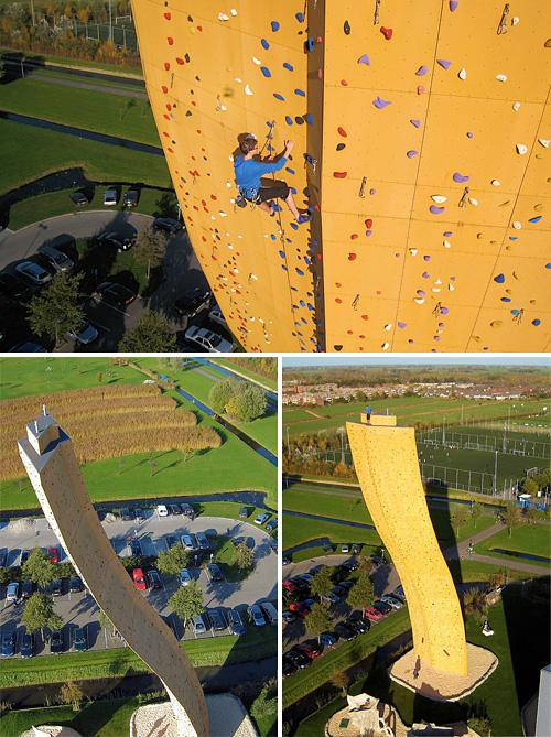 Bjoeks Excalibur Climbing Wall (Images courtesy Eric Kieboom)