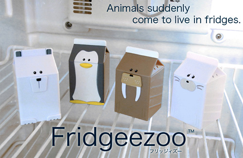 Fridgeezoo Animals (Image courtesy Appare Store)