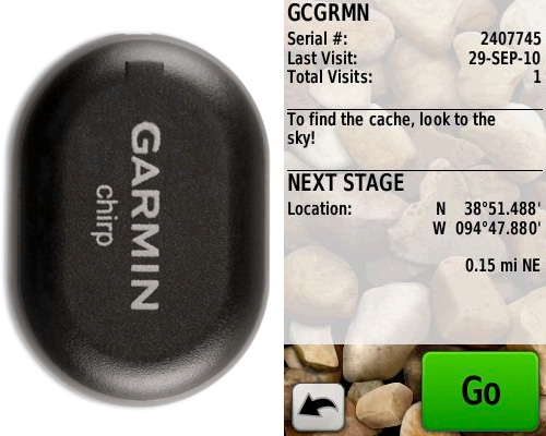 Garmin chirp (Images courtesy Garmin)