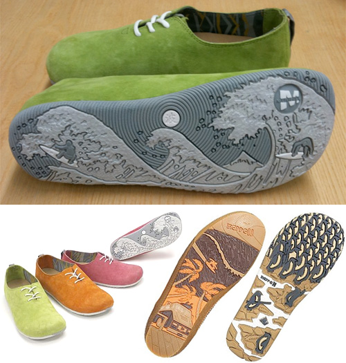 Merrell Woodblock Inspired Shoes (Images courtesy Merrell)