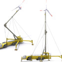Mobile Wind Turbine Concept Serves As An Eco-Friendly Emergency Generator
