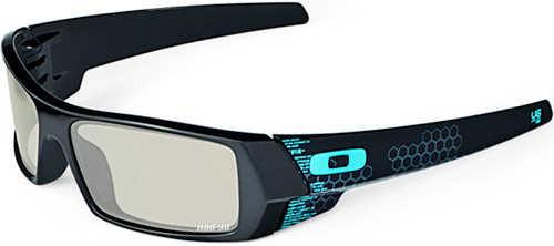 Oakley's 3D TRON Glasses (Image courtesy Oakley)