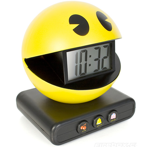Pac Man Alarm Clock (Image courtesy Firebox.com)