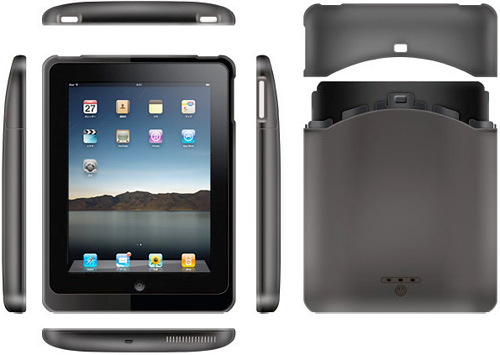 SolidMicro PadPower iPad Case (Image courtesy SolidMicro)