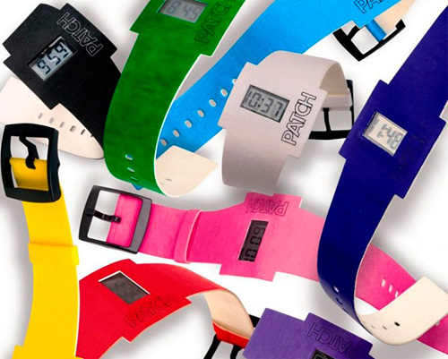 Patch Biodegradable Paper Watches (Image courtesy Atlanus)