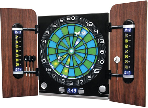 Visual Assist Dartboard (Image courtesy Hammacher Schlemmer)